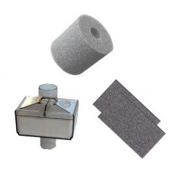 image: Kit Filtres : 2 poussières + 1 mousse + 1antibacterien oxybox 1