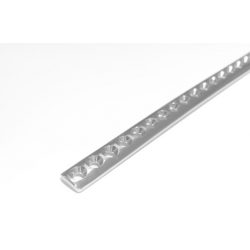 image: Cuttable Plate 50 holes - for 2.0, 2.4 & 2.7 screws - Fixus®