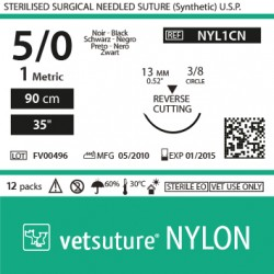 vetsuture NYLON metric 1...