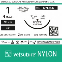 vetsuture NYLON metric 4...