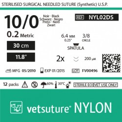 NYLON met 0.2 - USP 10/0 -...